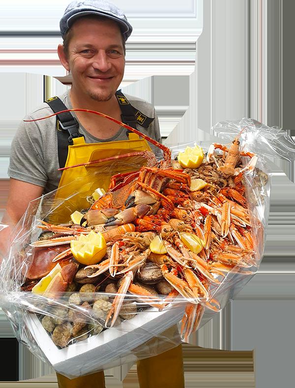Plateau de fruits de mer à emporter pour les fêtes