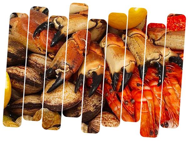 Plateau de Fruits de mer festif et gourmands : huitres, coquillages, homard, langoustes, tourteau
